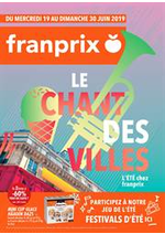 Promos et remises Franprix : Le chant des villes