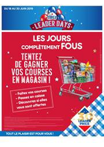 Jeux concours Leader Price : Super Leader Days