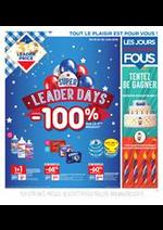 Promos et remises  : Super Leader Days