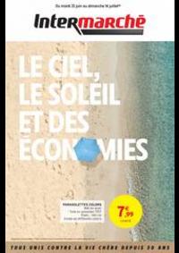 Prospectus Intermarché Hyper L'AIGLE : LE CIEL, LE SOLEIL ET DES ÉCONOMIES