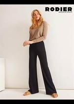 Prospectus rodier : Pantalons Femme