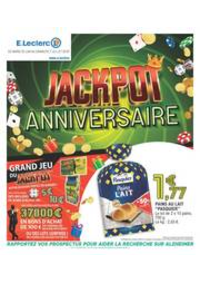 Prospectus E.Leclerc CHAMBLY : Jackpot anniversaire