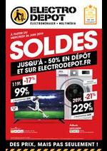 Prospectus ELECTRO DEPOT : Soldes
