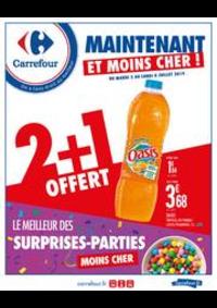 Prospectus Carrefour SAINT DENIS : Maintenant et moins cher ! Le meilleur des surprises-parties