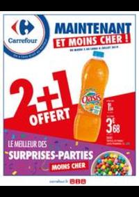 Prospectus Carrefour CHARENTON LE PONT : Maintenant et moins cher ! Le meilleur des surprises-parties