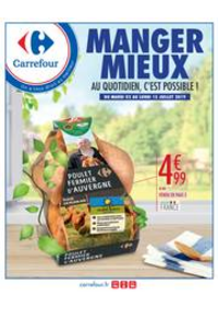 Prospectus Carrefour Drancy : MANGER MIEUX AU QUOTIDIEN, C'EST POSSIBLE