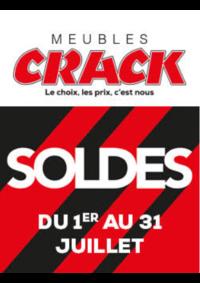 Promos et remises Meubles Crack : Soldes