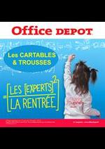 Prospectus Office DEPOT : Office Depot, l'expert de la rentrée! et profitez du service de preparation de liste scolaire en mag