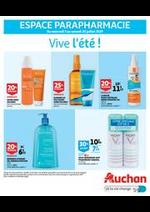 Prospectus Auchan : Vive l'été!