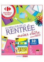 Prospectus Carrefour Market : Les meilleurs cartables moins chers