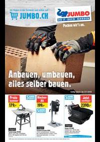 Promos et remises Jumbo Maximo Allmendingen b. Bern : Ambauen,umbauen,alles selber bauen