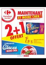 Prospectus Carrefour Market : Le meilleur des glaces moins cher