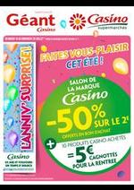 Prospectus Supermarchés Casino : Cahier salon de la marque Casino