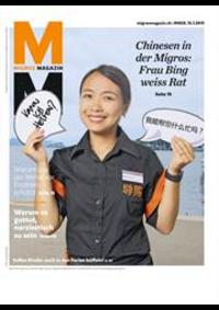 Journaux et magazines Migros Bern - Christoffelunterführung : Migros Magazin 29