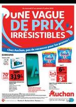 Prospectus Auchan drive : Une vague de prix irrésistibles
