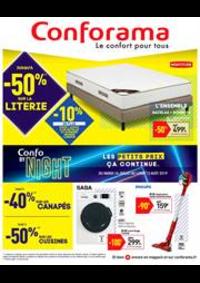 Prospectus Conforama Aulnay-sous-Bois : Catalogue Conforama