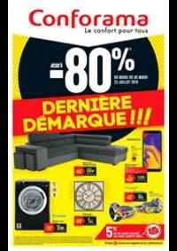 Prospectus Conforama CREIL - ST MAXIMIN : Dernière Démarque!!!