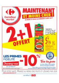 Prospectus Carrefour Market Paris Saint Ouen : Maintenant et moins cher