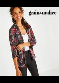 Prospectus Grain de Malice Carré Sénart - Melun  : Vestes Femme