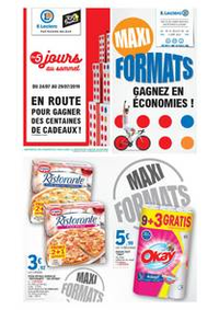 Prospectus E.Leclerc DAMMARIE LES LYS : Maxi Formats, Gagnez en économies!
