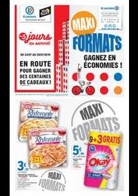 Prospectus E.Leclerc NANTERRE : Maxi Formats, Gagnez en économies!