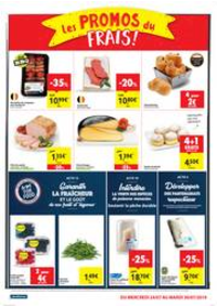 Prospectus Carrefour Market BOUGE : folder Carrefour Market