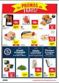 Prospectus Carrefour Market HANNUT Rue Albert 1er : folder Carrefour Market
