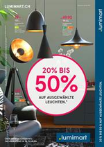 Prospectus Lumimart : 20% bis 50% auf ausgewählte Leuchten