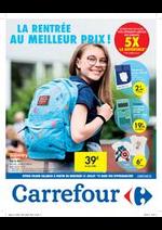 Prospectus Carrefour : La rentrée au meilleur prix