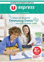 Promos et remises  : Catalogue U Express