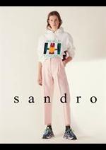 Prospectus Sandro : Pantalons Femme