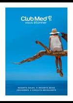 Prospectus  : CLUB MED RESORTS NEIGE & SOLEIL