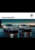 Prospectus Volkswagen : Volkswagen Passat et Passat SW