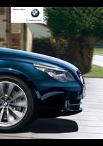 Prospectus BMW : BMW Serie 5 - Berline