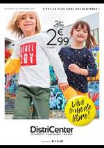 Prospectus distri-center : Vive la mode libre!