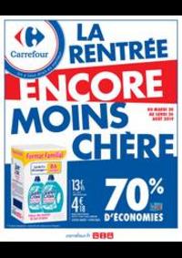 Prospectus Carrefour : La rentrée encore moins cher !