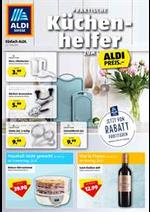 Prospectus Aldi : Praktische Küchen-helfer zum Aldi Preis.-
