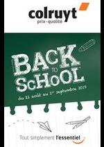Prospectus Colruyt : Back to School