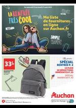 Prospectus Auchan : La rentrée très cool