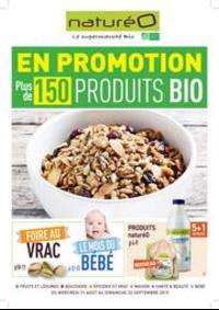 Prospectus NaturéO LIVRY-GARGAN : En promotion plus de 150 produits BIO