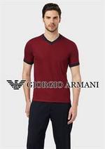 Catalogues et collections Armani : Men's Polos & T-shirts