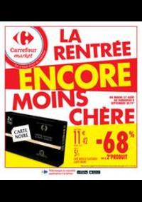 Promos et remises Carrefour Market NOISY LE SEC : La rentrée encore moins chère 2