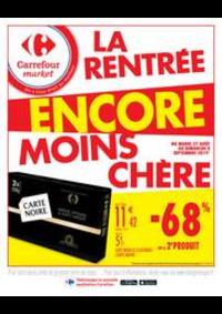 Promos et remises Carrefour Market PARIS 102-104 AVENUE GENERAL LECLERC : La rentrée encore moins chère 2