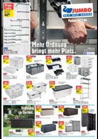 Prospectus Jumbo Maximo Allmendingen b. Bern : Mehr Ordnung  bringt mehr Platz