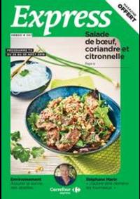 Journaux et magazines Carrefour Express PARIS 44 rue Sibuet : Express Hebdo S34