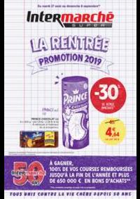 Promos et remises Intermarché Super Chilly Mazarin : LA RENTREE PROMOTION 2019