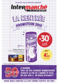 Promos et remises Intermarché Super Nanterre : LA RENTREE PROMOTION 2019