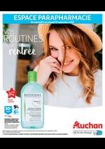 Prospectus Auchan : Vos routines de la rentrée