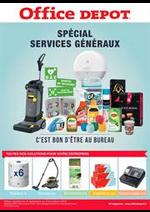 Prospectus Office DEPOT : Votre catalogue special Services Géneraux !