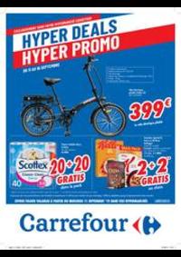 Promos et remises Carrefour JAMBES : folder Carrefour
